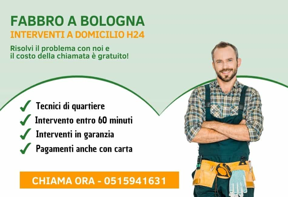 Fabbro Bologna - Pronto Intervento h24